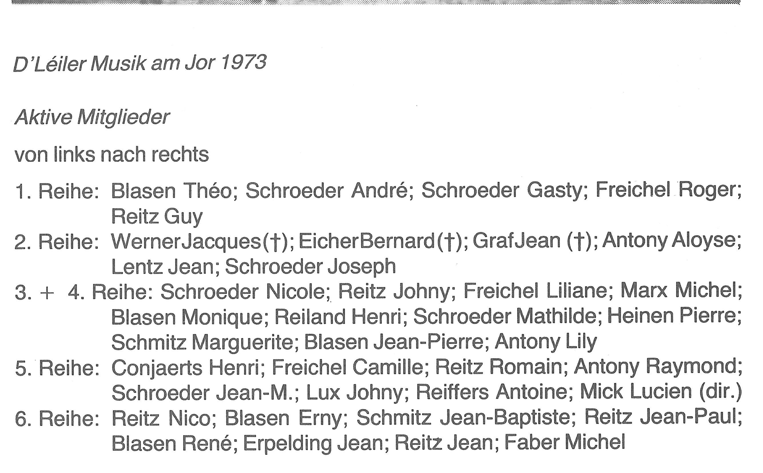 MusikText 1973
